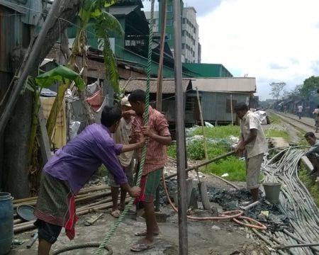 Soil Test 01, Dhaka-Narayanganj Rail