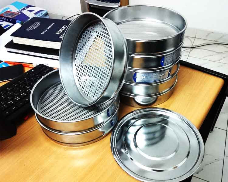 Standard Sieves for Grain size analysis